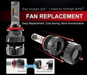 Wholesale LED Car Headlight C6,  S1,  S2,  T1,  T8,  X3,  V5,  V5S,  V1S,  K6S,  K8S,  B6,  Aladdin,  7G,  T8S and MINI series etc