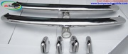 VW Type 3 bumper (1963 - 1969) by stainless steel