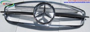 Mercedes W190SL Front Grille by stainless steel