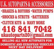 U.K. Auto Parts & Accessories